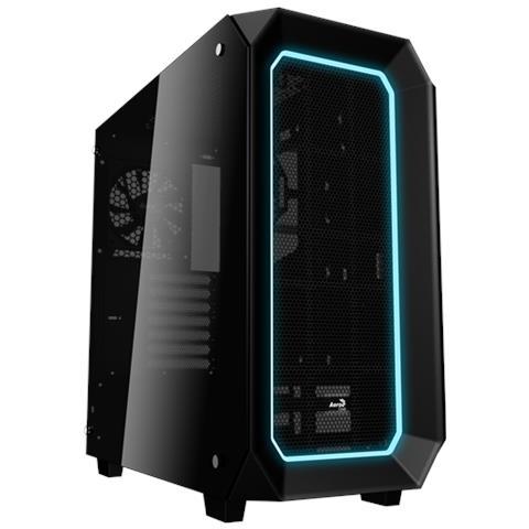Case P7 Middle Tower ATX 2 Porte USB 3.0 Colore Nero (Finestrato)