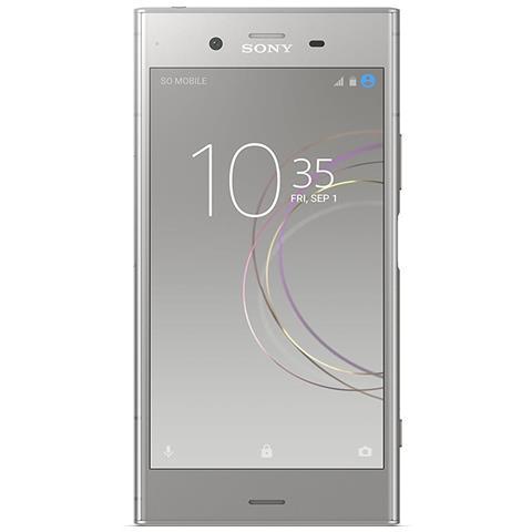 "SONY Xperia XZ1 Argento 64 GB 4G / LTE Display 5.2"" Full HD Slot Micro SD Fotocamera 19 Mpx Android Tim Italia"