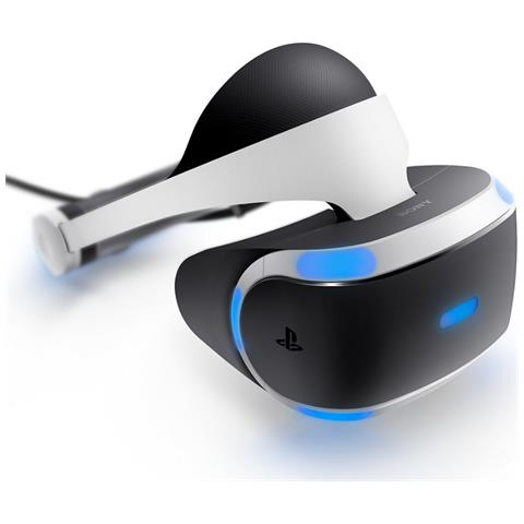 SONY PlayStation VR Dedicated head mounted display 610g Nero, Bianco