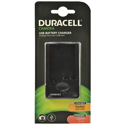 DURACELL Caricabatterie DRC5800 Colore Nero