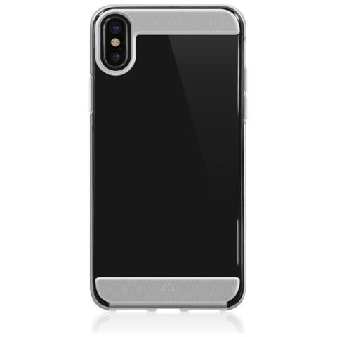 BLACK ROCK Cover in TPU per iPhone X Colore Trasparente