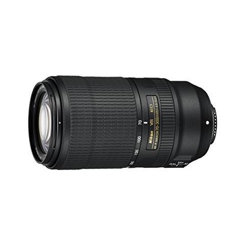 Image of AF-P NIKKOR 70-300mm f / 4.5-5.6E ED VR SLR Tele zoom lens Nero