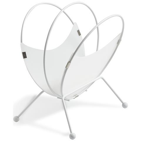 Emporium Portariviste Lapillopolipropilene Legno Bianco Componenti D'arredo Design