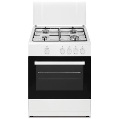 Cucina Elettrica DSGC-6060E 4 Zone Cottura a Gas Forno Elettrico Classe A Dimensioni 60 x...