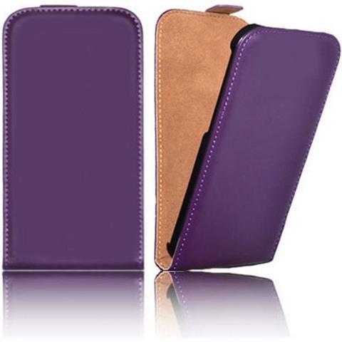 Tikytek - Custodia Flip Orizzontale Vera Pelle Per Apple Iphone 7