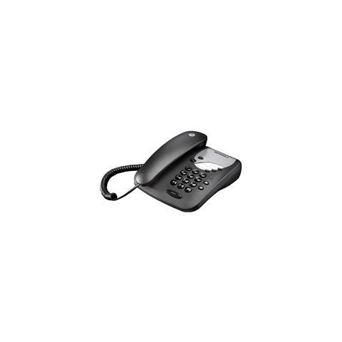MOTOROLA Telefono a filo motorola black