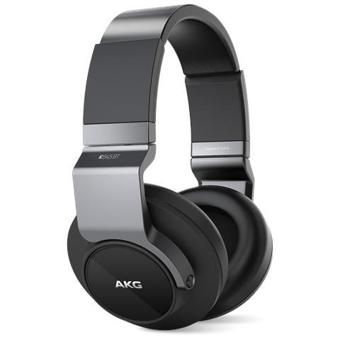 AKG Cuffie ad Archetto K845 Bluetooth colore Nero