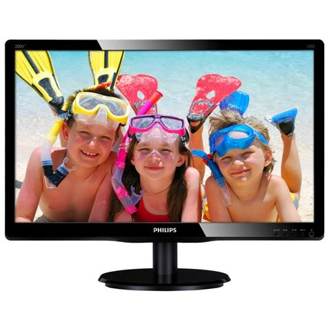 Image of 200V4QSBR Monitor 19.5'' Led FullHD 1920x1080 Tempo di risposta 5ms Contrasto 3.000 :1 Luminosit