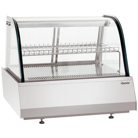 405056 Vetrinetta refrigerata per alimenti 2/1 GN 110 litri