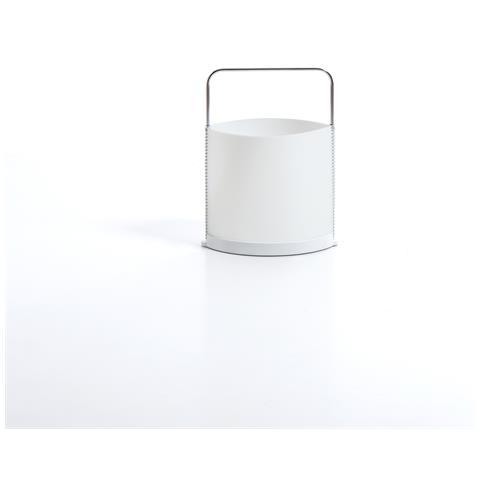 Emporium Porta Riviste Nichel Whitepolipropilene Componenti D'arredo Design