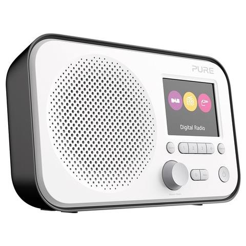 Pure Vl-62956. Elan E3 È Una Radio Portatile Digitale Dab Ed Fm, Disponibile In Tante Vivaci Finiture Per Rallegrare L'ambiente. - Elan E3