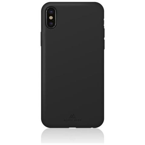 BLACK ROCK Cover in Silicone per iPhone X Colore Nero