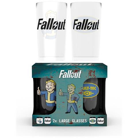 Fallout 4 - Vault Tec (set 2 Bicchieri)