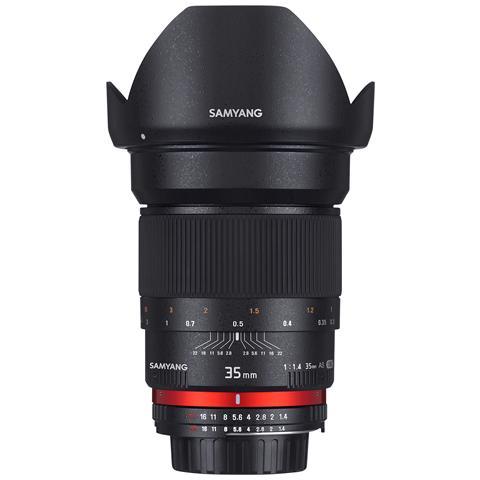 Image of 35mm F1.4 AS UMC, Canon, Ampio, SLR, 12/10, APS-C, Full frame, Canon, Canon