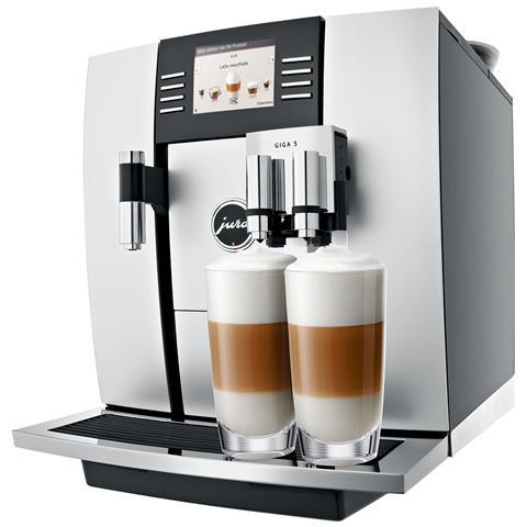 GIGA 5 Macchina da Caffè Automatica Serbatoio 2.6 Litri Potenza 2300 Watt Colore Alluminio