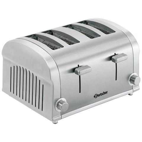 100202 Tostiera elettrica Silverline 1400W 4 toast 1.4 kW