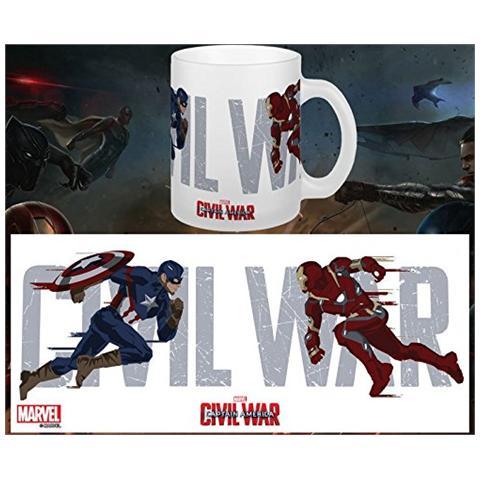 Tazza Captain America Civil War Mug Running To Battle