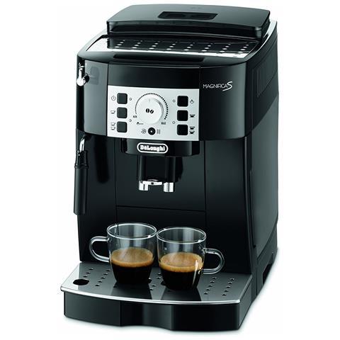 Magnifica S Macchina Superautomatica per Caffe Espresso con Cappuccinatore Colore Nero ECAM 22.110. B