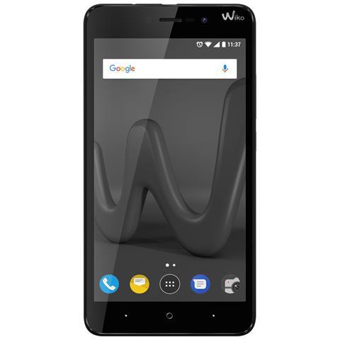 "WIKO Lenny 5 Nero 16 GB Dual Sim Display 5.7"" HD+ Fotocamera 8 Mpx Android Italia"