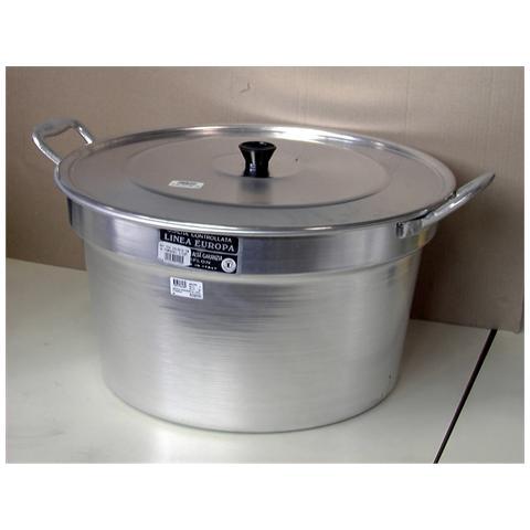 HOME Pentola Pomodoro Alluminio Con Coperchio Cm70 Pentole Cucina