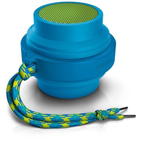 PHILIPS Speaker Audio Portatile BT2000 Bluetooth colore Blu