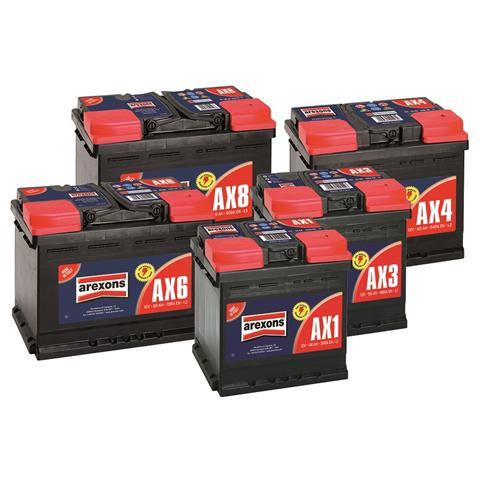 Batteria Auto E Furgoni, Pronta All'Uso, No Manutenzione 55ah 480a