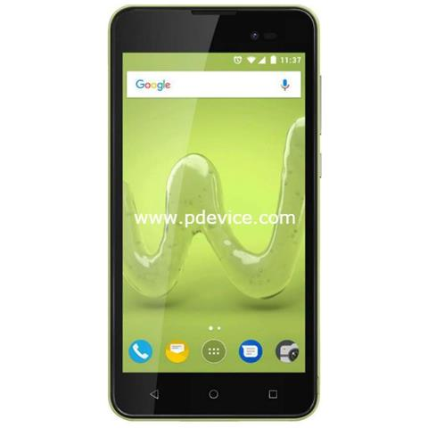 "WIKO Sunny 3 Verde 8 GB Dual Sim Display 5"" Fotocamera 5 Mpx Android Italia"