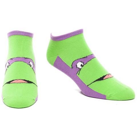 BIOWORLD Teenage Mutant Ninja Turtles - Ninja Purple Ankle (Calzini Tg. 43-46)