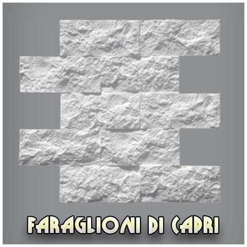 Pannello In Eps Al Mq Per Parete Effetto Pietra, Muro Etrusco Pacco Da 23,16mq