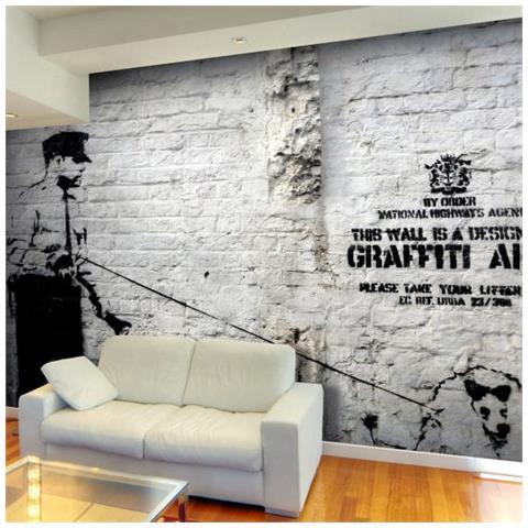 Fotomurale Banksy Graffiti Area