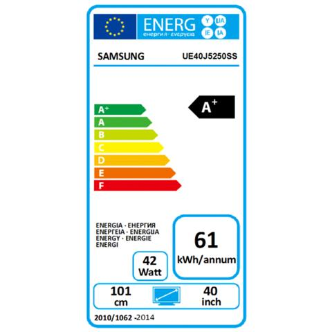 "SAMSUNG TV LED Full HD 40"" UE40J5250SSXZG Smart TV"