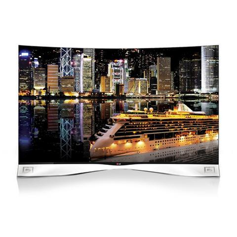55EA980V TV OLED 3D Design Curvo Smart TV 55 Full HD Skype integrato DVB T2   S2 PVR Wi Fi integrato Web Browser 3 porte USB DivX HD 4 HDMI Slot CI+