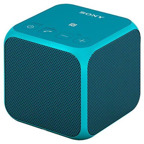 SONY Speaker Audio Portatile SRS-X11 Potenza 10 Watt Bluetooth / NFC colore Blu
