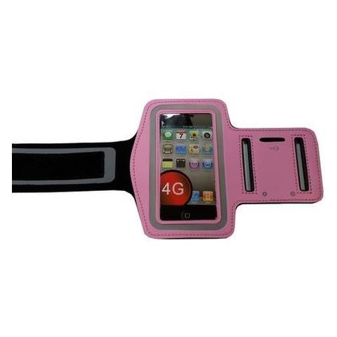 NetworkShop Custodia Fascia Da Braccio Sport Armband Rosa Per Iphone 4/4s / 3g / 3gs / ipod Touch