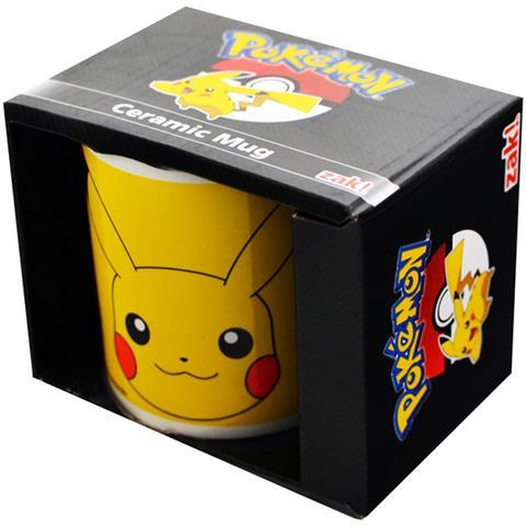 Pikachu Tazza Ufficiale In Ceramica (313 Ml) (multicolore)
