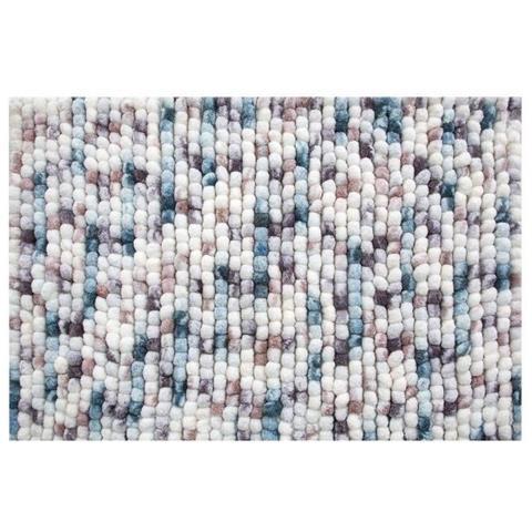 1018624-scendibagno Kito Ice-berry, 55x 65cm-tappeto Da Bagno, Microfibra Di Poliest...