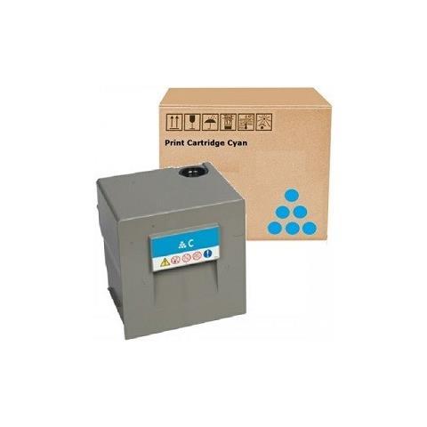 Image of 841787 Ciano Rig Toner Color Compatibile Lanier Ricoh Nashuatec Mpc6502, c8002 -29k Copie