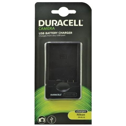 DURACELL Caricabatteria DRN5822 USB Colore Nero