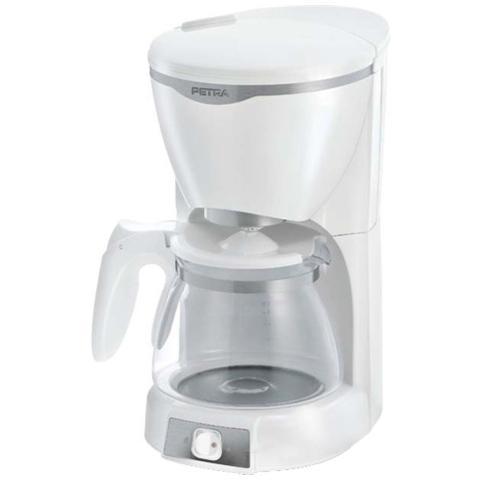 Macchina da Caffè con Filtro AutomaticaKM 601.00 Serbatoio 1.25 Lt. Potenza 1000 Watt Colore Argento e Bianco