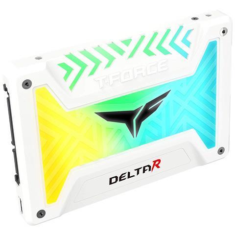 SSD 250 GB Serie Delta R RGB 2.5'' Interfaccia Sata III 6 GB / s