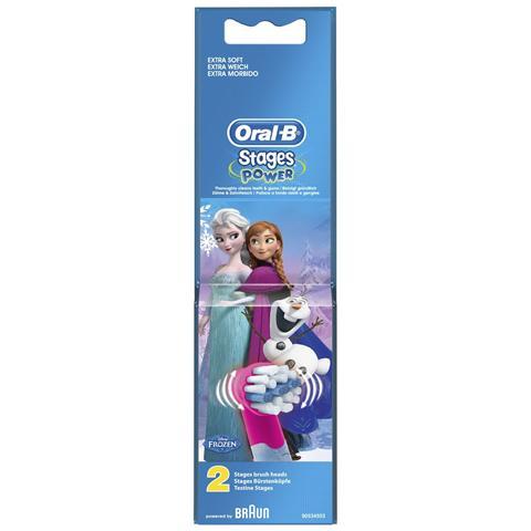 BRAUN Testine Sostitutive per Spazzolino Elettrico Oral-B