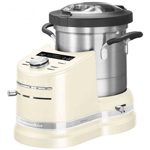 Image of Cook Processor Artisan Robot da Cucina Potenza 1500 Watt Capacità 4.5 Litri 5KCF0103EAC Colore Crema