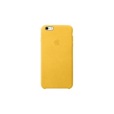APPLE Custodia in Pelle per iPhone 6s Plus Colore Giallo Marigold