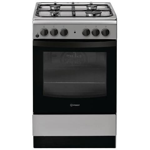 Cucina Elettrica IS5G4KHX / IT 4 Fuochi a Gas Forno Elettrico Classe A Dimensioni 50 x 60...