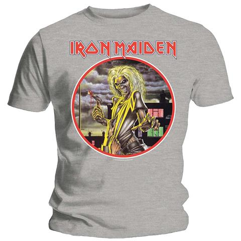 ROCK OFF Iron Maiden - Killers Circle (t-shirt Unisex Tg. M)