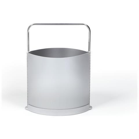 Emporium Porta Riviste Nichelpolipropilene Grigio Componenti D'arredo Design