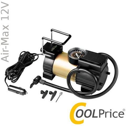 Compressore 12v Professionale Auto Manometro 180w Air-max 72152