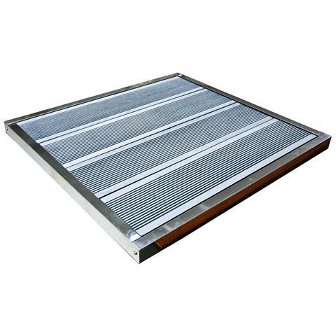Base Fissaggio Doccia Solare K2o Como 70,5x66,5x3,5 Cm