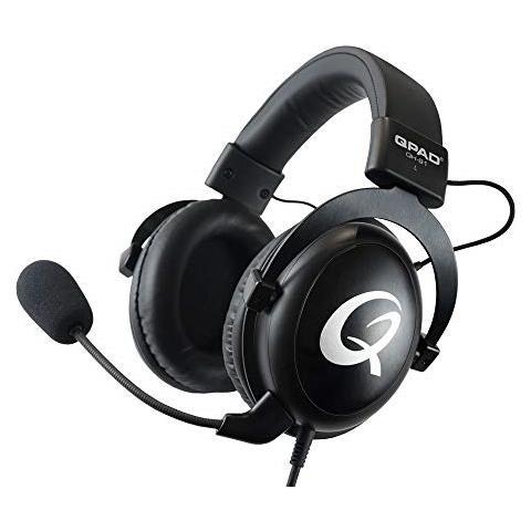 Image of Qh-91 Premium Pro Gaming Headset Cuffie, Cuffie Stereo Per Pc Audio Con Da 53 Millimetri, Nero