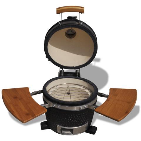 Barbecue Kamado In Ceramica Griglia Fumatore 44 Cm